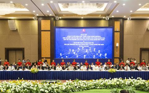 Trường Đại học Mỏ - Địa chất cùng với hơn 50 trường đại học hàng đầu Việt Nam ký kết thỏa thuận hợp tác với Tập đoàn Vingroup