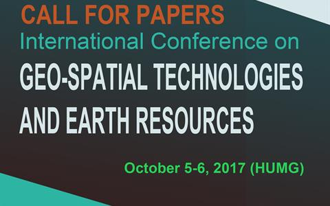 International Conference on GEO-SPATIAL TECHNOLOGIES AND EARTH RESOURCES
