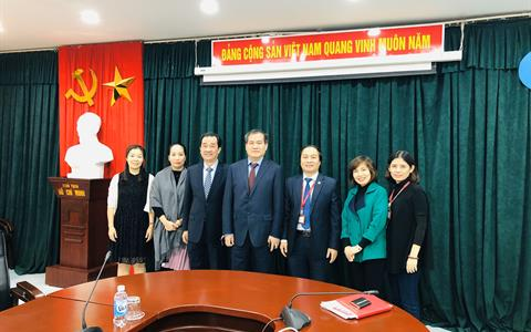 Chương trình làm việc giữa Trường Đại học Mỏ - Địa chất và Trường Đại học Mỏ và Công nghệ Trung Quốc, Bắc Kinh